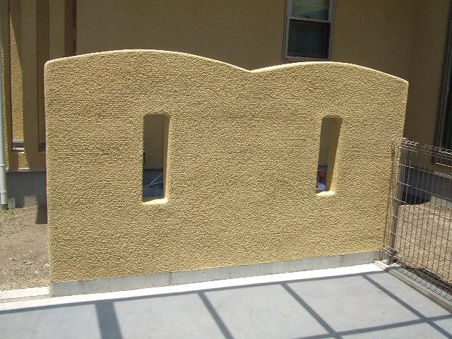 もう一つの門塀