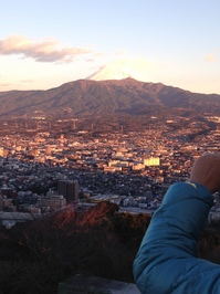 27年元旦香貫山から富士山.JPG