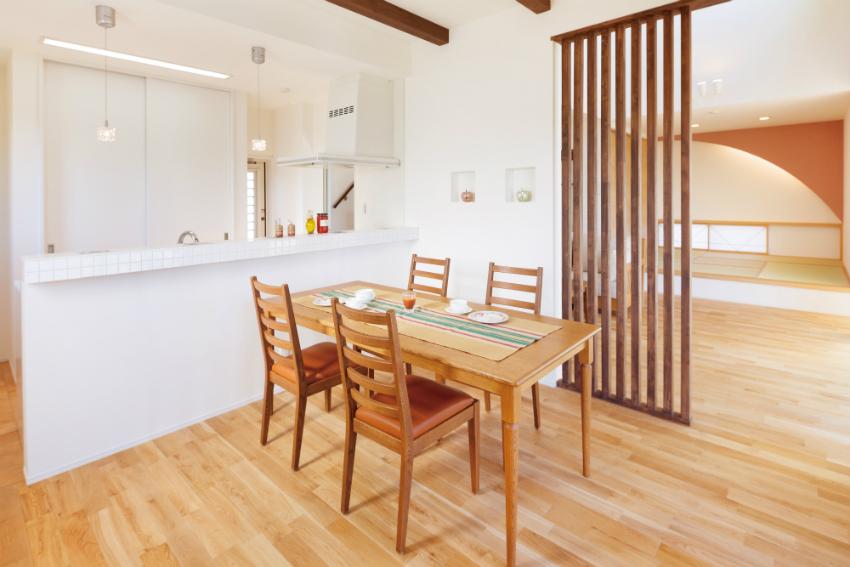 子世帯と親世帯がちょうど良い距離感を保てる2世帯住宅