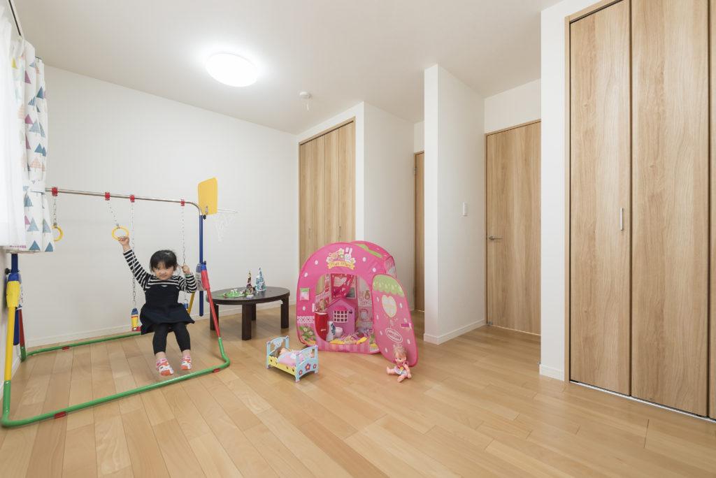2部屋繋がった子供室