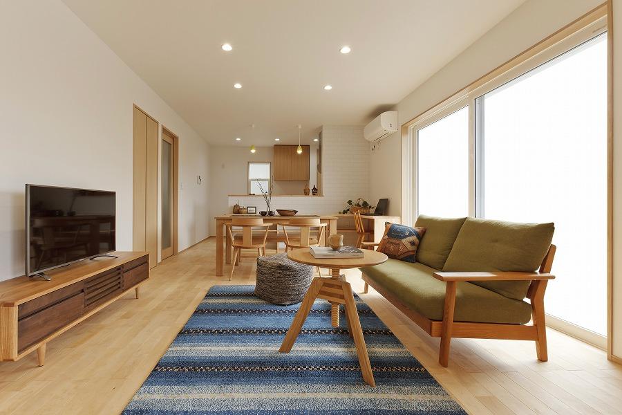 寒冷地でも冬暖かく快適に暮らせる いごこちの良い家