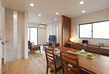 コンパクトな空間もプラン次第で広々と感じられる家