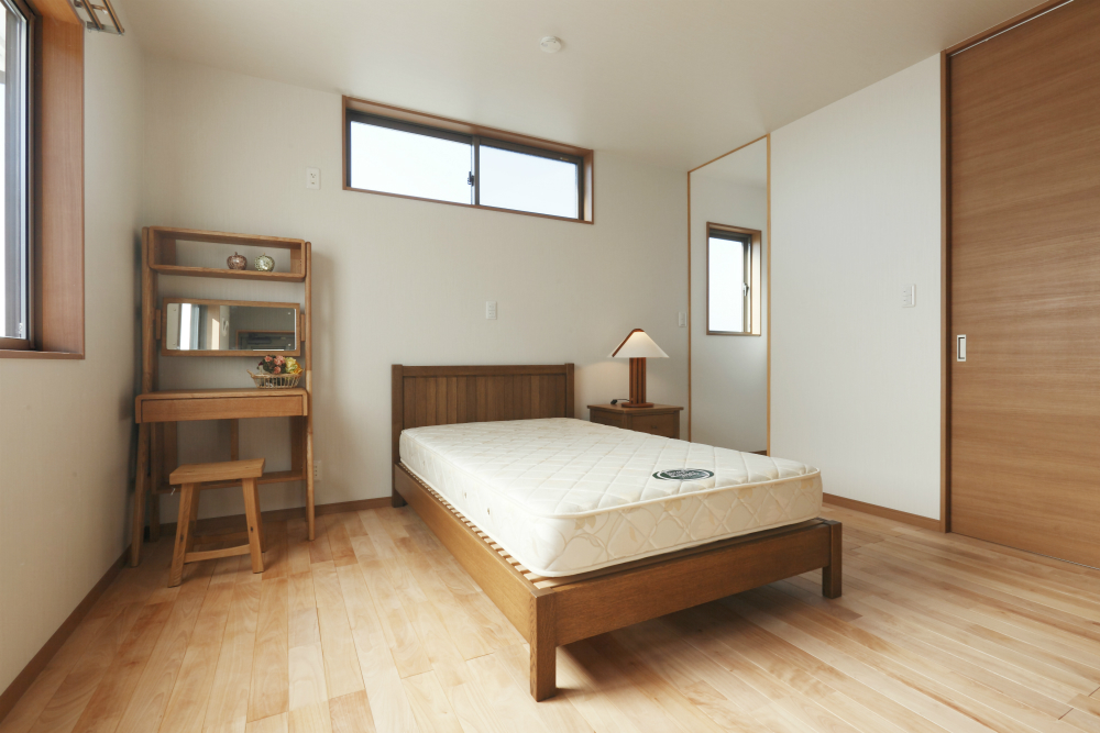 大容量のWICのある主寝室