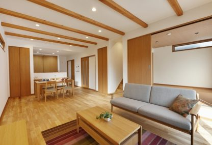 「賢い家事動線と収納空間」で快適さと便利さを追求した家