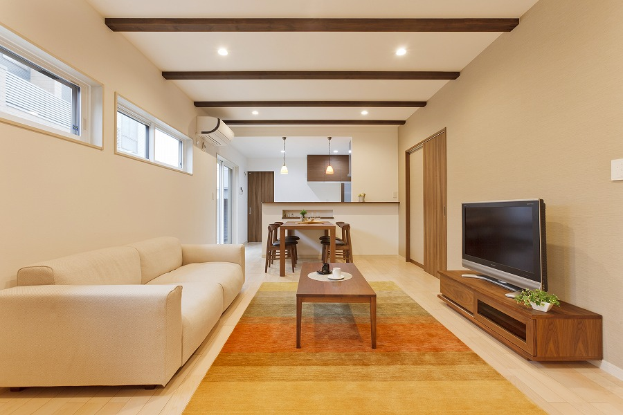 快適さと楽しさが同居する家