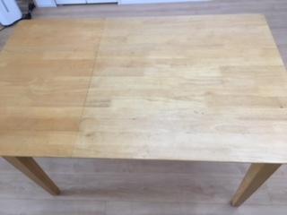 ダイニングテーブルのリメイク