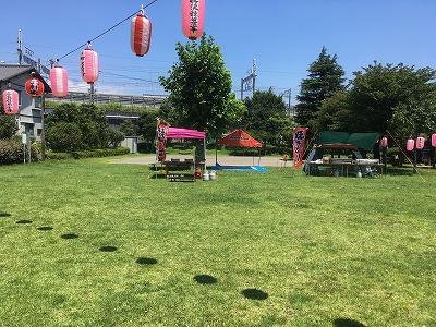 地域行事(夏祭り)参加