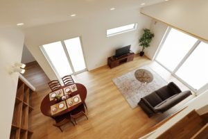 OPEN HOUSE in長泉「大屋根とダイナミックな勾配天井で圧倒的開放感!!家族団らんとピアノを堪能する家」