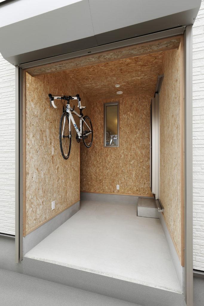 ロードバイクのためのサイクルポート