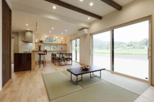 OPEN HOUSE  「家族みんなが自然と集う畳リビングのある住まい」