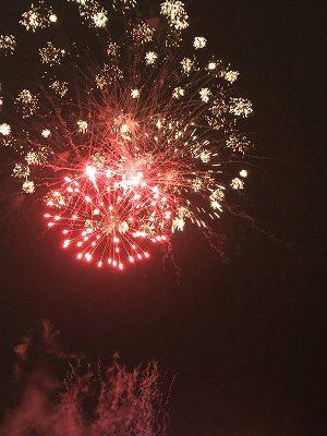 狩野川の花火