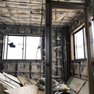 鉄骨造工場併用住宅のリノベーション