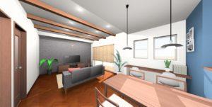OPEN HOUSE in 清水町 「ヘリンボーンの床が映える住まい」