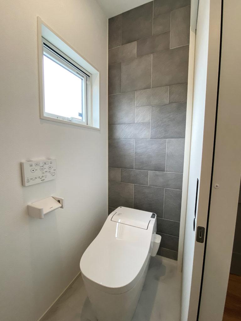 エコカラット貼りのトイレ
